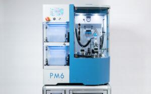PM6 lapping and polishing machine