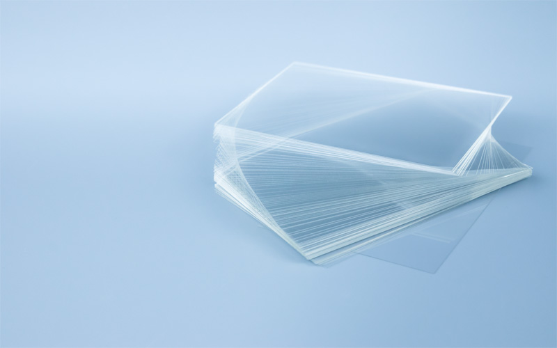 Logitech glass microscope slides