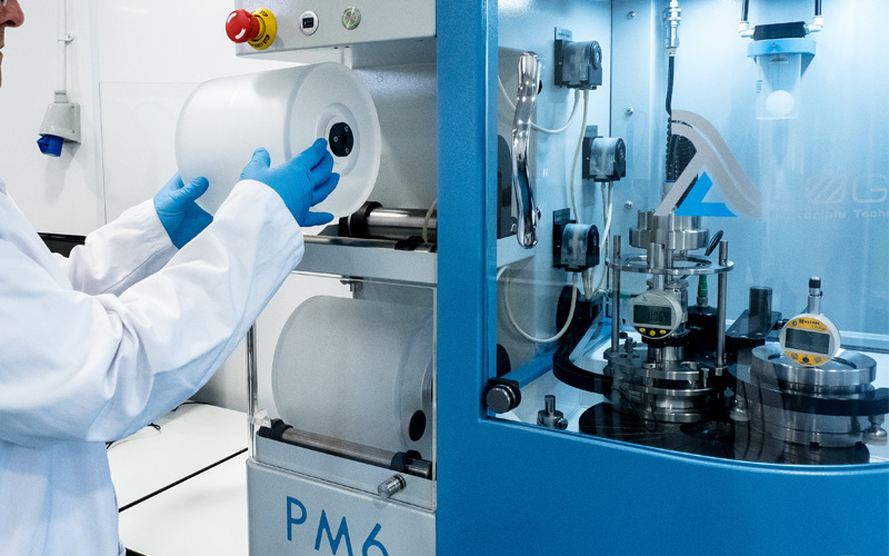 PM6 Lapping machine